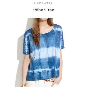 Madewell Shibori tie dye tee size S